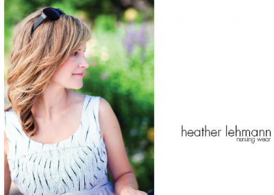 HEATHER LEHMANN, a patented design • design direction • strategy • design